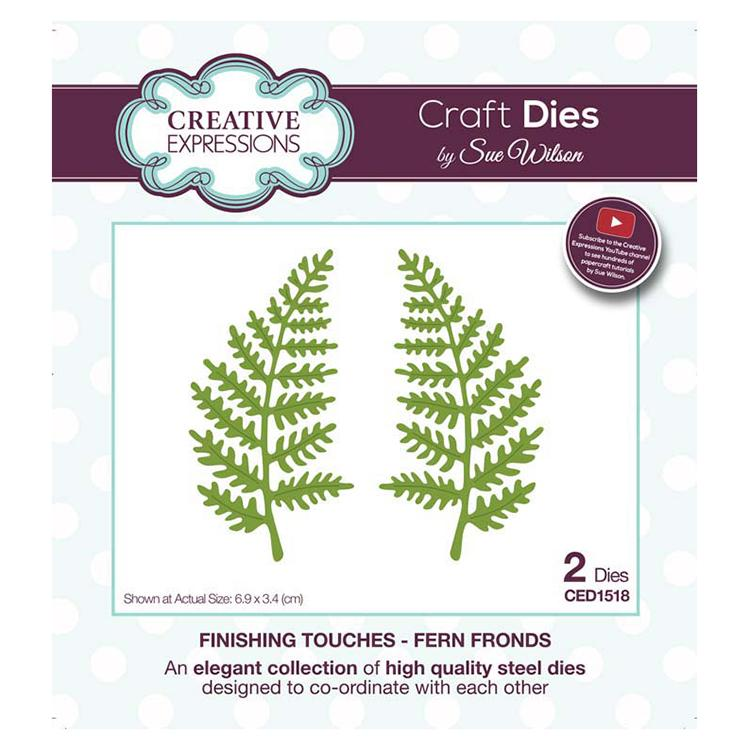 Creative Expressions Finishing Touches Collection Fern Fronds