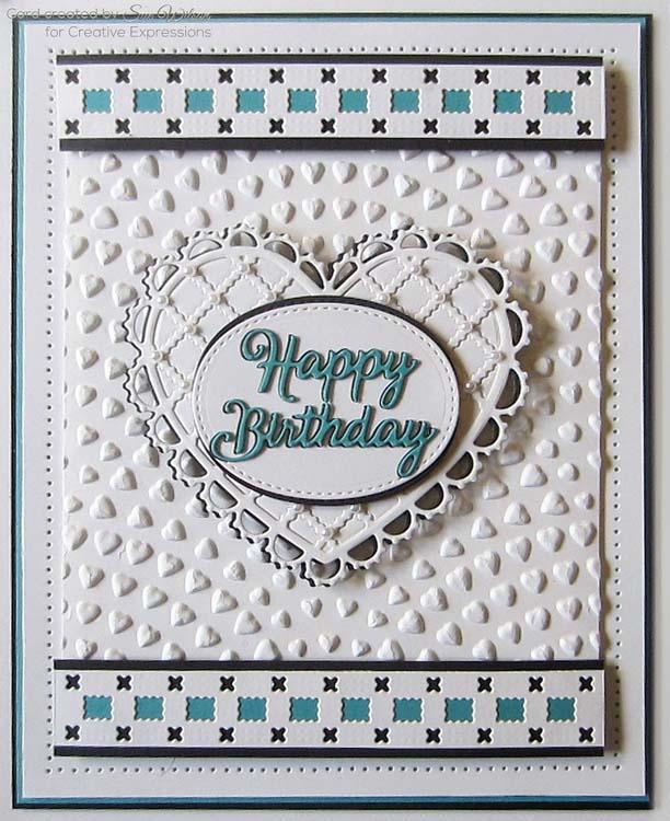 Dies by Sue Wilson Filigree Artistry Collection Squares & Crosses Border