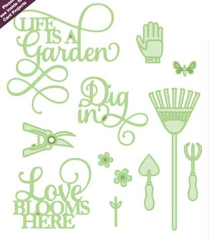 Necessities Collection Life is a Garden Die