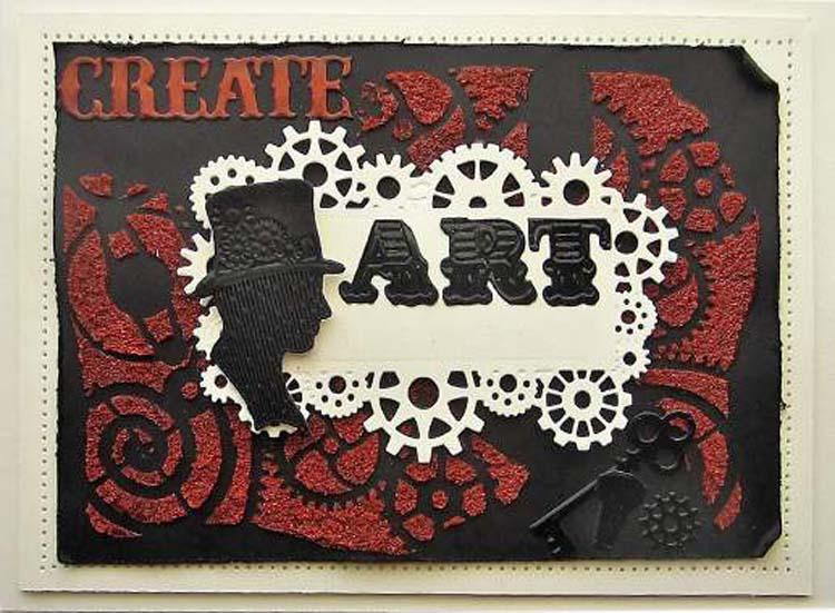 Industrial Chic Collection Frame & Tag Die