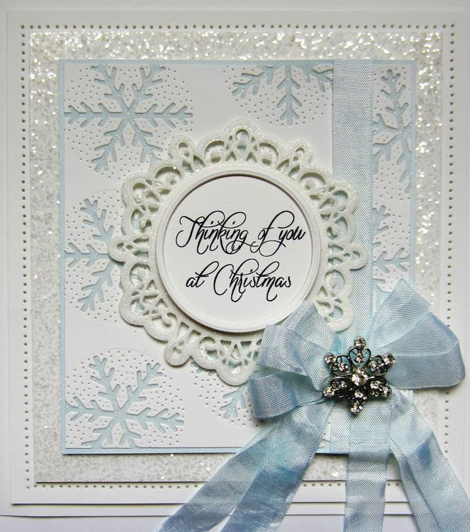 Festive Collection Bold Snowflake Frame