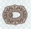 Festive Collection Snowflake Filigree Frame