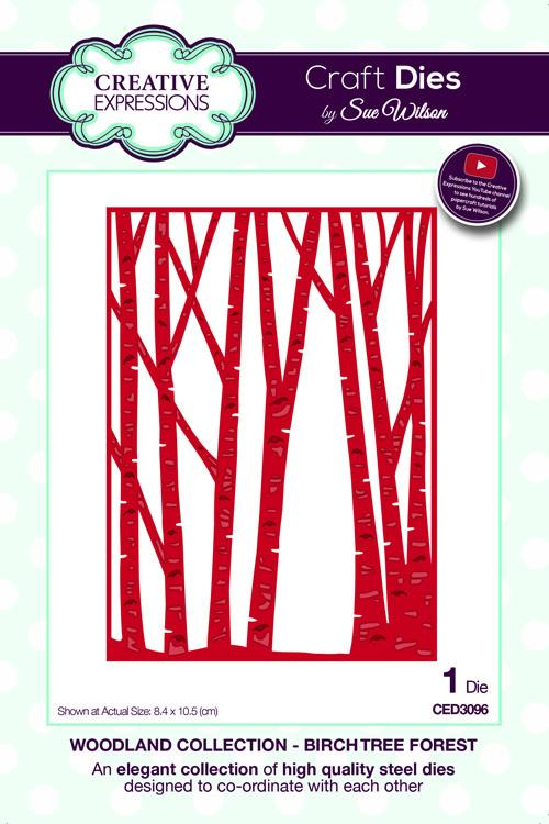 Woodland Collection Birch Tree Forest Die