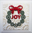 Festive Industrial Chic Collection Wreath
