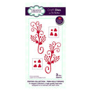 Festive Collection Twin Holly Sprays Craft Die