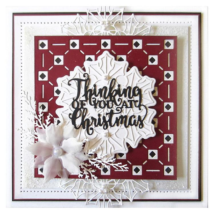 Festive Collection Evergreen Branches Craft Die