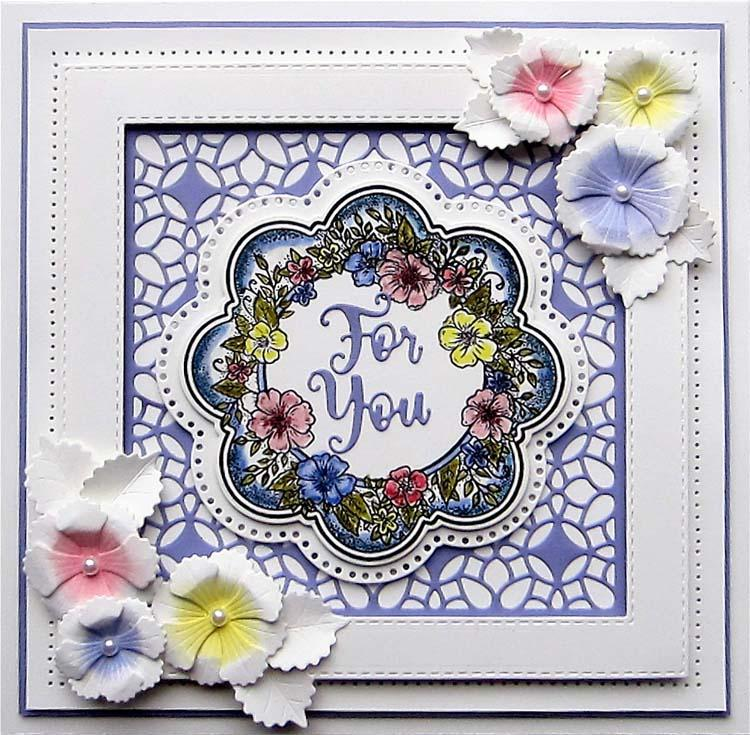 Creative Expressions Frames and Tags Collection Claire