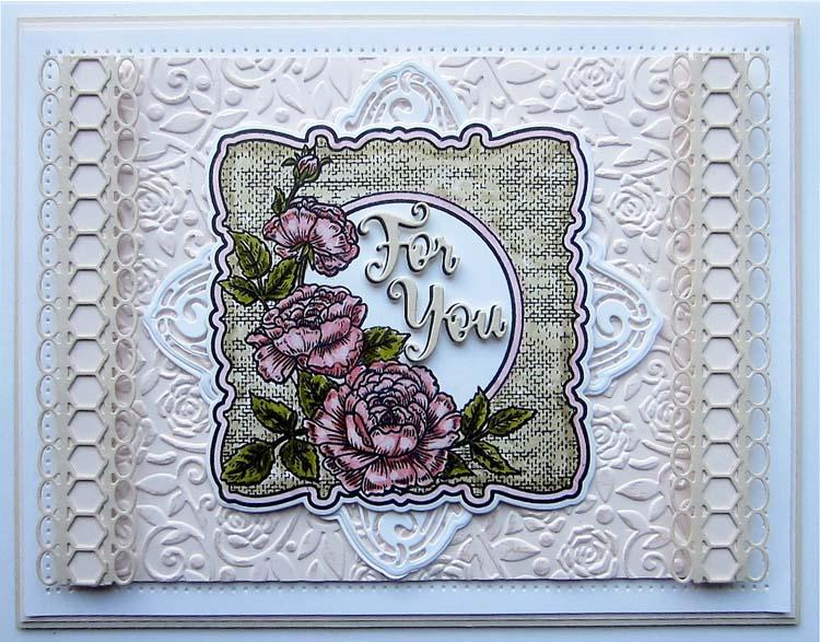 Creative Expressions Frames and Tags Collection Abigail