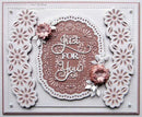 Creative Expressions Dies by Sue Wilson Frames and Tags Collection Vivian