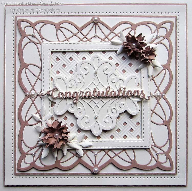 Creative Expressions Dies by Sue Wilson Frames and Tags Collection Beatrice