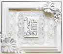 Dies by Sue Wilson Frames and Tags Collection Priscilla