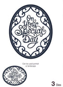 Expressions Ornate Oval - Special Day