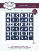 Expressions Collection Alphabet Grid Die