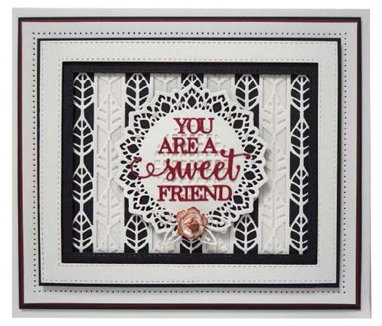 Expressions Collection Mix & Match Friendship Die