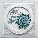 Creative Expressions Dies by Sue Wilson Noble Collection Double Stitched Circles