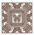 Background Collection Butterfly Frame Die