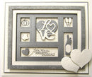 Shadow Boxes Collection Wedding