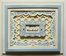 Shadow Boxes Collection Stitched Lattice Frames