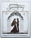 Dies by Sue Wilson Special Occasions Collection Wedding Arch and Columns