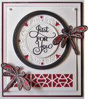 Creative Expressions Dies by Sue Wilson Triple Layer Collection Tina