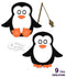 Creative Expressions Die Stitched Collection - Penguin