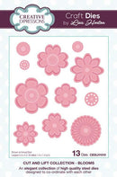 Creative Expressions Cut and Lift Collection Blooms Craft Die