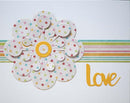 Creative Expressions Cut and Lift Collection Floral Rounds Craft Die