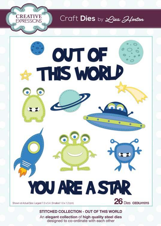 Creative Expressions Stitched Collection Out of this World Craft Die