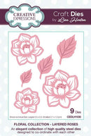 Floral Collection Layered Roses Craft Die