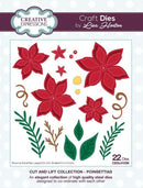 Cut and Lift Collection Poinsettias Craft Die