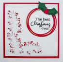 Cut and Lift Collection Festive Foliage Craft Die
