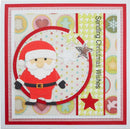 Stitched Collection Jolly Santa Craft Die