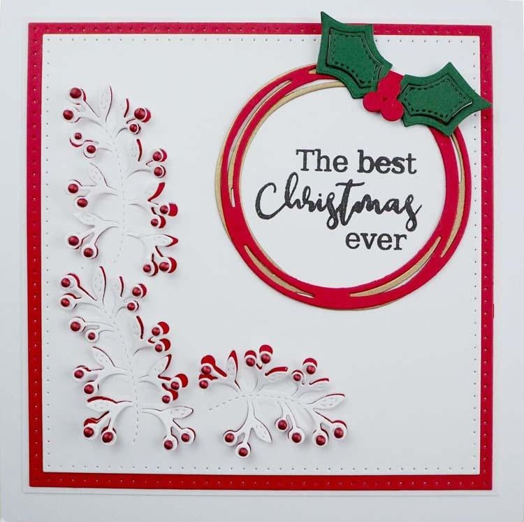 Stitched Collection Wreath Craft Die