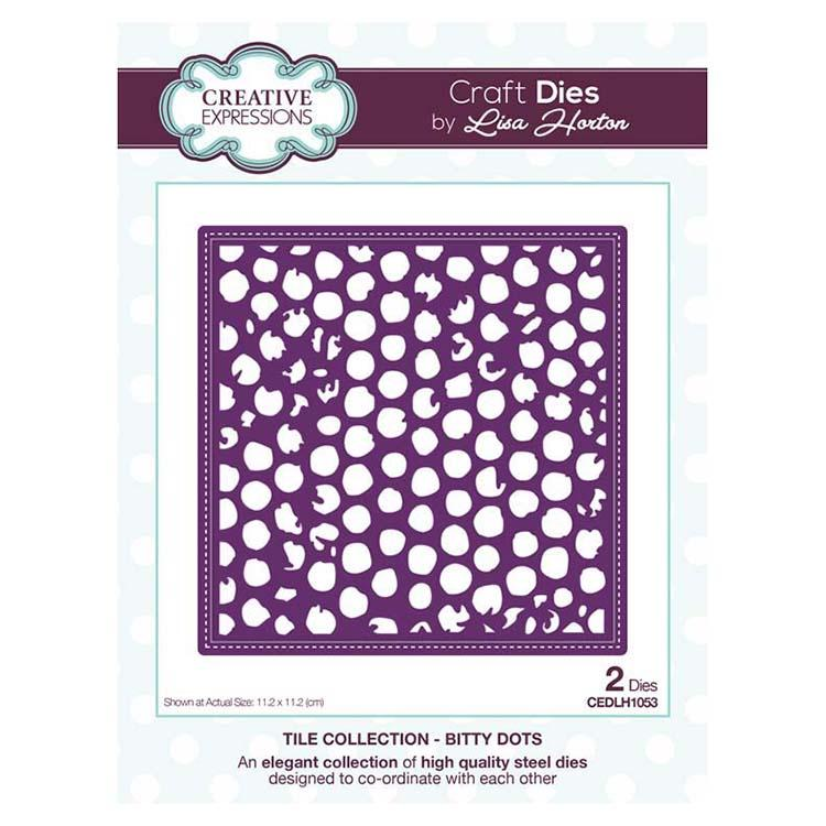 Creative Expressions Tile Collection Bitty Dots