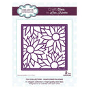 Creative Expressions Tile Collection Sunflower Blooms Craft Die