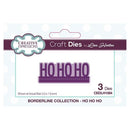 Creative Expressions Borderline Ho Ho Ho Craft Die