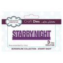 Creative Expressions Borderline Starry Night Craft Die