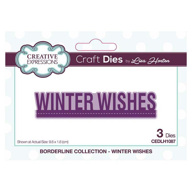 Creative Expressions Borderline Winter Wishes Craft Die