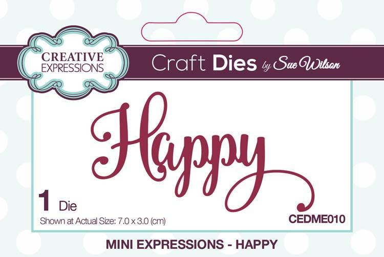 Mini Expressions Collection Happy Die