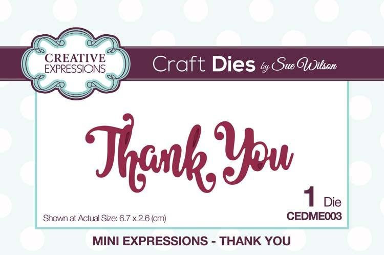 Mini Expressions Collection Thank You Die