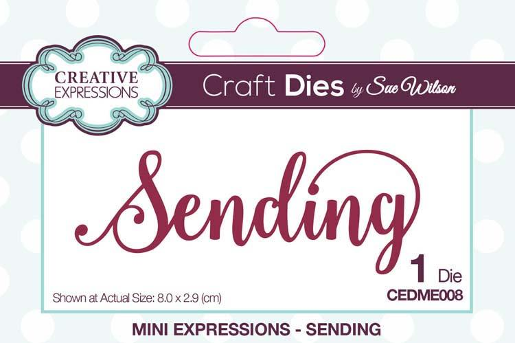 Mini Expressions Collection Sending Die