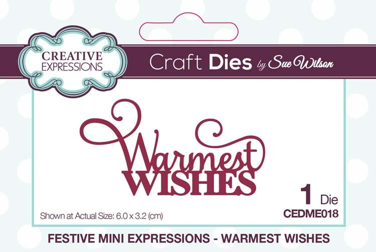 Mini Expressions Collection Warmest Wishes