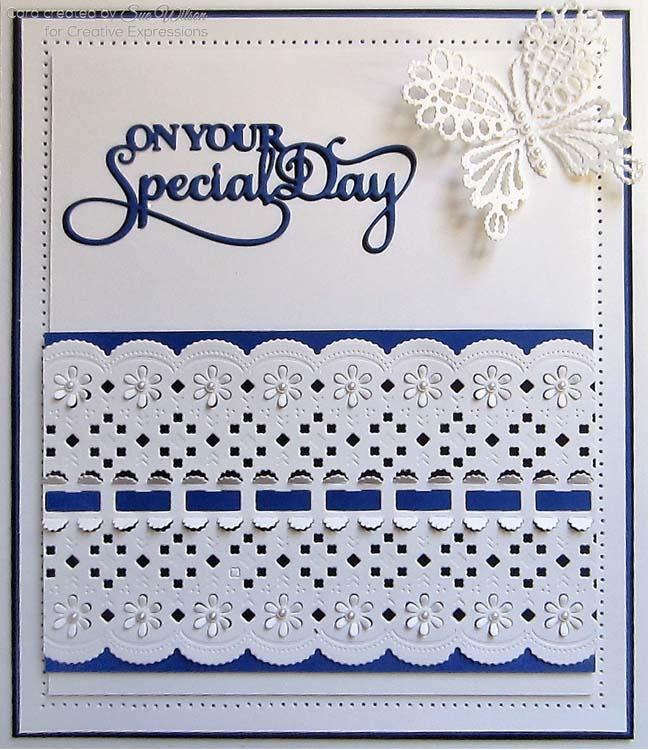 Dies by Sue Wilson Mini Expressions Collection On Your Special Day