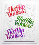 Dies by Sue Wilson Noble Expressions Collection  Hip Hip Hooray Craft Die
