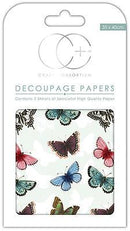 Butterfly Repeat Decoupage Papers
