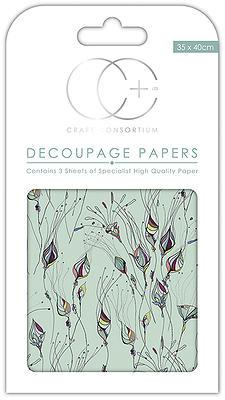 Sun Life Decoupage Papers