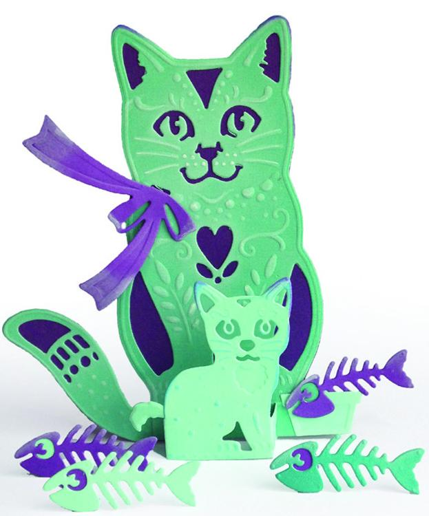 Creative Expressions Die Paper Cuts 3D - The Cats Whiskers