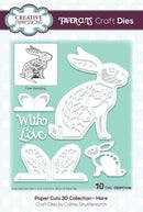 Creative Expressions Paper Cuts 3D Collection Hare Die