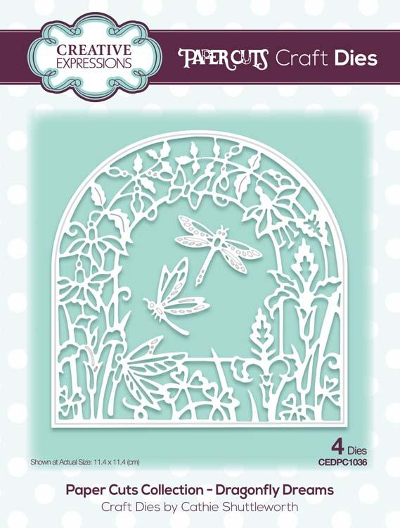 Paper Cuts Collection Dragonfly Dreams Craft Die