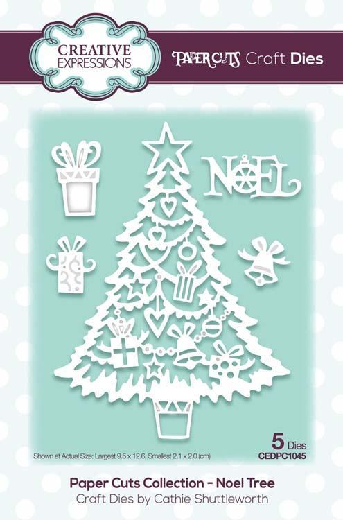 Paper Cuts Collection Noel Tree Craft Die